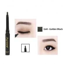 Chì kẻ mắt không trôi Shiny Mini Hàn Quốc Màu G08 (Golden Black)