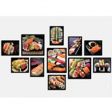 Khung ảnh composite thế giới Sushi KA205 (tặng ảnh)