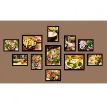 Khung ảnh composite thế giới đồ ăn 3 KA196 (tặng ảnh)