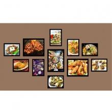 Khung ảnh composite thế giới đồ ăn 1 KA193 (tặng ảnh)