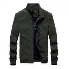Áo khoác dù nam cao cấp dáng áo đứng, thêu chữ Fashion, phối túi mổ bên trong áo - FA02