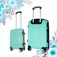 Set 2 vali chống bể cao cấp Trip PP103 size 50cm+60cm màu xanh (tặng 1 gối cổ cao cấp màu ngẫu nhiên)