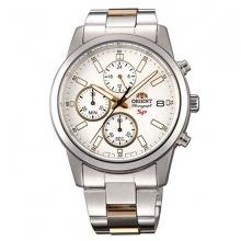 Đồng hồ nam Orient FKU00001W0 chính hãng (full box + sổ bảo hành toàn quốc 3 năm) mặt kính chống xước - chống nước - dây thép 316l