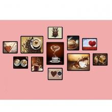 Khung ảnh composite cà phê 3 KA191 (tặng ảnh)