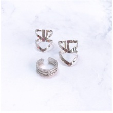 Set 3 nhẫn midi ring layer - Tatiana - NH2224