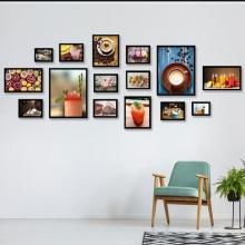 Khung ảnh composite trang trí quán 1 KA184 (tặng ảnh)