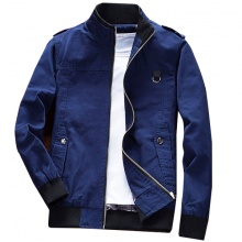 Áo khoác kaki nam cao cấp dáng áo đứng, phù hợp nhiều phong cách KVN04