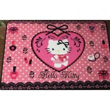 Thảm nhung 3D Hello Kitty TSN40 (kích thước: 60x90cm)