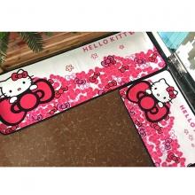 Combo 2 thảm nhung nhà bếp Hello Kitty TSN35