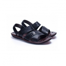 Sandals nam cao cấp Pierre Cardin PCMFWLB112BLK màu đen