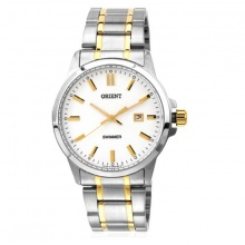 Đồng hồ nam Orient SUNE5001W0 chính hãng (full box + sổ bảo hành toàn quốc 3 năm) mặt kính chống xước - chống nước - dây thép 316l
