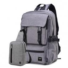 Combo balo thời trang nam Laza BL289 và túi đeo chéo Laza TX361