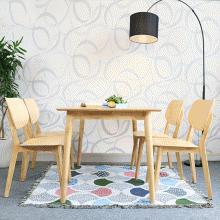Bộ bàn ăn 6 ghế Venus 1m6 - Cozino