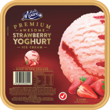 Kem dâu - Strawberry Yogurt