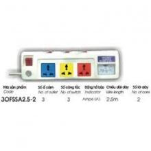 Ổ cắm kéo dài công suất lớn Lioa 3 OFSSA2.5-2