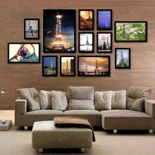 Khung ảnh treo tường Composite tháp Paris KA158 (tặng ảnh)