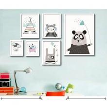 Khung ảnh composite gấu Panda KA150 (tặng ảnh)