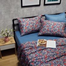 Bộ chăn drap lụa modal Hàn Quốc 5 món Gorgeous Blossom 01 1m6x2m