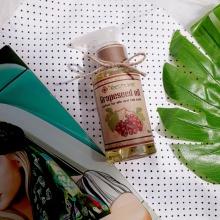 (Mua 1 được 3) - dầu hạt nho dưỡng da Ecolife tặng cọ quét mặt + xà phòng thảo mộc