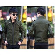 Áo khoác kaki nam cao cấp dáng áo đứng, phù hợp nhiều phong cách kvncv02 (chọn màu:đen,xanh rêu, kem)
