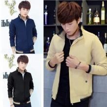 Áo khoác kaki nam cao cấp dáng áo đứng, phù hợp nhiều phong cách kvnnut02 (chọn màu: đen, kem, xanh đen)