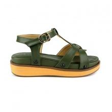 Sandal êm chân Sunday SD32 màu xanh rêu