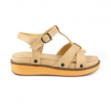 Sandal êm chân Sunday SD32 màu kem