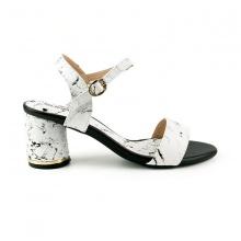Sandal đế vuông êm chân Sunday DV48 vân đen