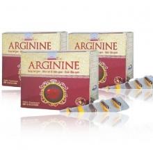 Bộ 3 thực phẩm bảo vệ sức khỏe Arginine bổ gan