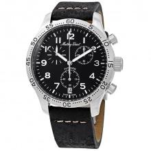 Đồng hồ nam chính hãng Mathey Tissot H1821CHALNG bảo hành toàn cầu - Máy pin dây da bò thật cao cấp