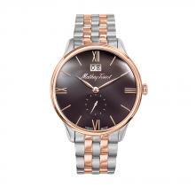 Đồng hồ nam chính hãng Mathey Tissot H1886MRM bảo hành toàn cầu - Máy pin dây thép không gỉ