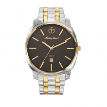 Đồng hồ nam chính hãng Mathey Tissot H6940MBN bảo hành toàn cầu - Máy pin dây thép không gỉ