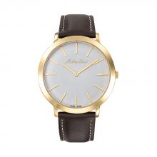 Đồng hồ nam chính hãng Mathey Tissot H7915PYI bảo hành toàn cầu - Máy pin dây da bò thật đẳng cấp