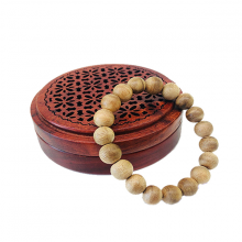 Vòng tay trầm hương - 10 ly - Nhang Thiền