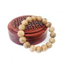 Vòng tay trầm hương - 12 ly - Nhang Thiền