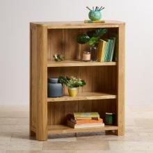 Tủ kệ sách thấp Emley gỗ sồi - Cozino