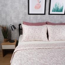 Bộ chăn drap cotton satin Hàn Quốc 5 món Lux. Pattern 03 1m6x2m