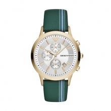 Đồng hồ nam chính hãng Emporio Armani AR11233 bảo hành toàn cầu - Máy pin dây da tổng hợp