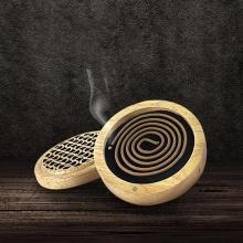 Hộp đốt gỗ chuyên dụng cho nhang vòng trầm hương