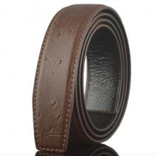Dây thắt lưng da bò cao cấp - dây nịt da bò không mặt khóa Sam Leather SDNDN002