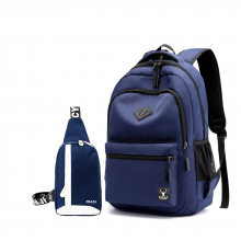 Bộ balo học đường phong cách và túi đeo đa năng Praza - BL177DC090