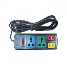 Ổ cắm điện 4 lỗ đa năng (2 lỗ 2, 2 lỗ 3) dây 3m Lioa 2D2S32