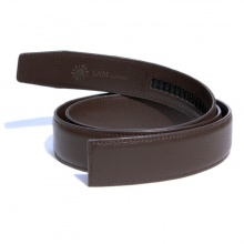 Dây thắt lưng da bò cao cấp - dây nịt da bò không mặt khóa Sam Leather SDNSX004