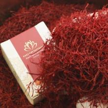 Saffron KingDom - nhụy hoa Nghệ Tây Iran loại Negin thượng hạng hộp 1 gram