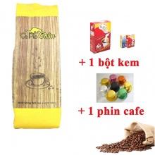 Combo cà phê chồn 500g + bột kem pha cà phê 170g + 1 phin cà phê cao cấp