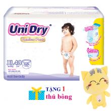 (Tặng 1 thú bông con mèo) tã quần Unidry Premium size M60 _ size XL48 (màu quà tặng giao ngẫu nhiên)