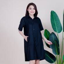 Váy dạng áo, chất liệu 100% cotton, phù hợp với mùa thu