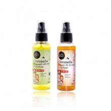 (Mua combo giá tốt) 2 tinh dầu xịt muỗi và côn trùng Phutawan 100ml - an toàn cho bé & phụ nữ có thai