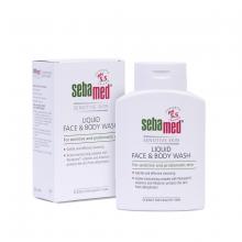 Sữa rửa mặt và tắm toàn thân da nhạy cảm Sebamed pH5.5 200ml - SSS01C