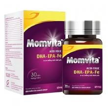 Vitamin bà bầu Momvita - Mẹ khỏe Bé thông minh - hộp 30 viên - Momvita